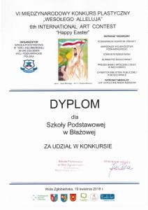 dyplom dla szkoły