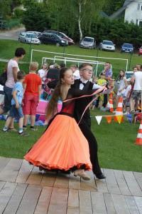 Tancerze z Signum Dance z Hyżnego
