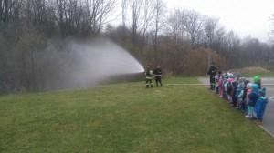 Pokazy strażackie dla przedszkolaków