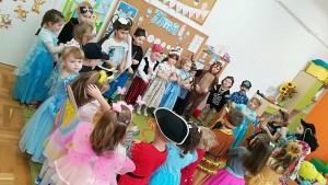 Zabawa choinkowa - oddział przedszkolny